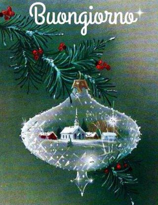 Buongiorno Immagini Natalizie.Buongiorno Natale Il Buongiorno